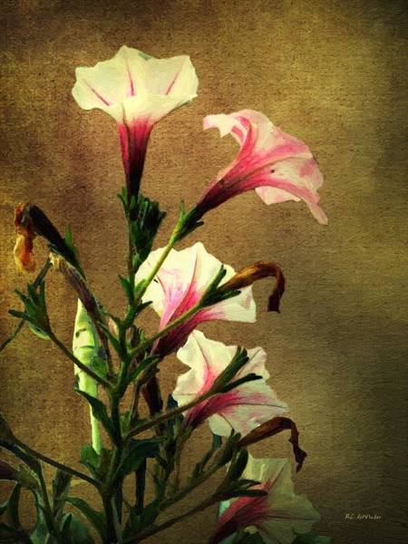 Painting - Beauty On A Stalk by RC DeWinter