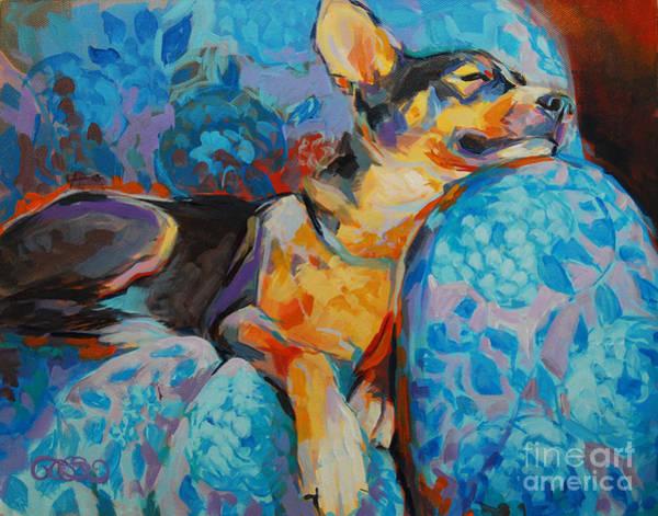 Nap Wall Art - Painting - Beauty Rest by Kimberly Santini