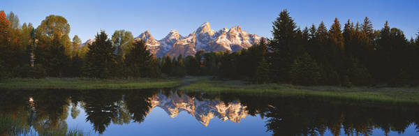 Beaver Pond Wall Art - Photograph - Beaver Pond Grand Teton National Park Wy by Panoramic Images