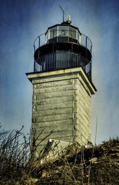 Narragansett Photograph - Beavertail Lighthouse  by Joan Carroll