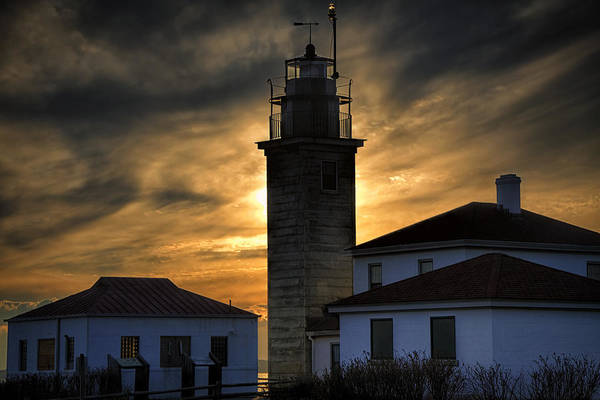 Photograph - Beavertail Lighthouse Too by Joan Carroll