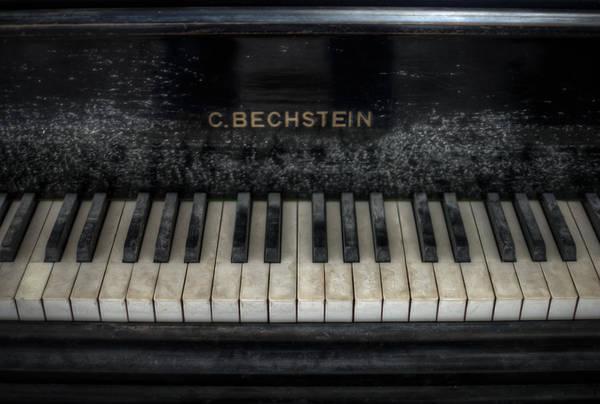 Depressed Digital Art - Bechstein Keys by Nathan Wright