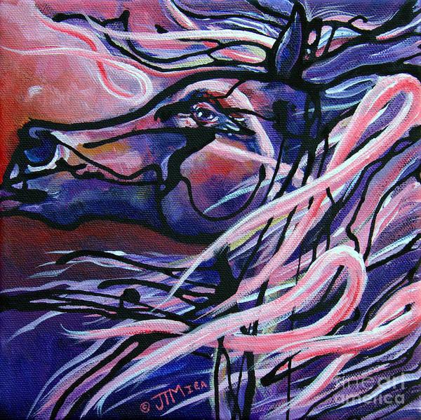 Painting - Become A Survivor by Jonelle T McCoy
