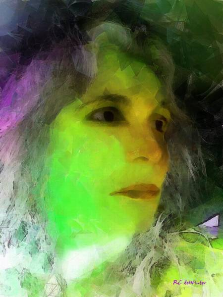 Painting - Becoming Elphaba by RC DeWinter