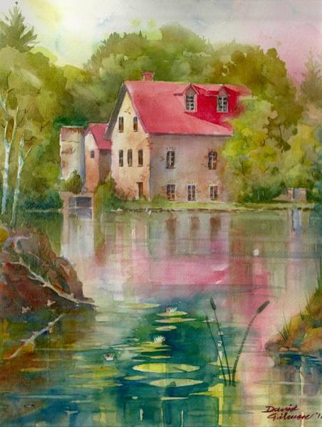 Painting - Bedford Mill by David Gilmore