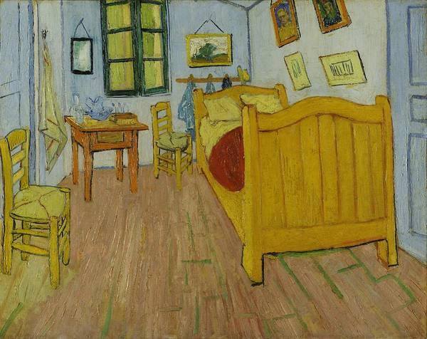 Painting - Bedroom In Arles by Vincent Van Gogh