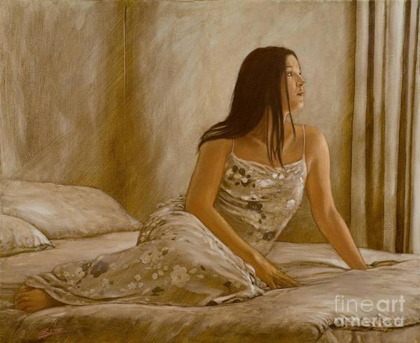 Painting - Bedroom Sunlight by John Silver
