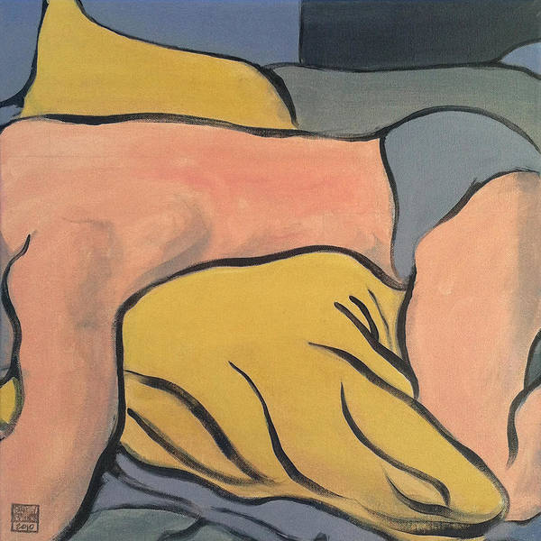 Sleepless Painting - Bedscape One Am by Stan  Magnan