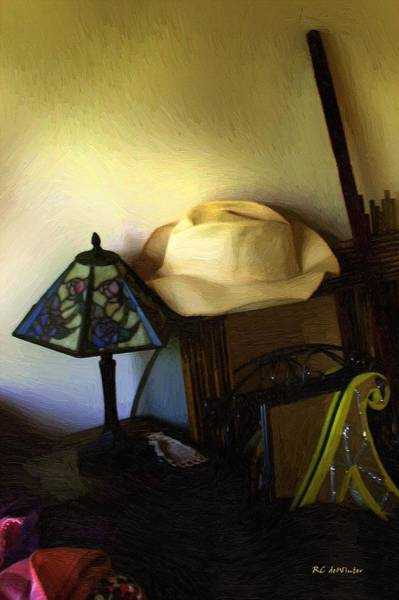 Painting - Bedside Magick by RC DeWinter