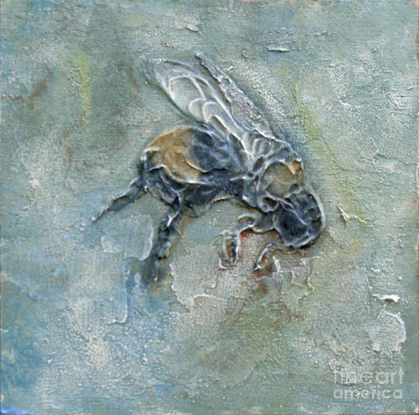 Mixed Media - Bee Bumble by Phyllis Howard