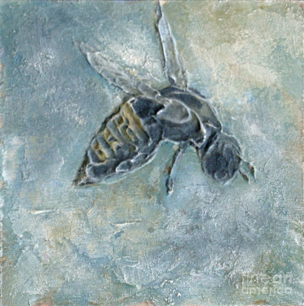 Mixed Media - Bee Busy by Phyllis Howard