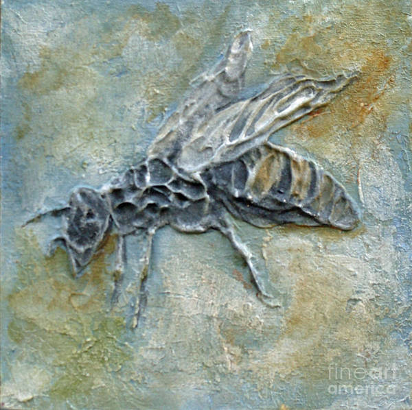 Mixed Media - Bee Worker by Phyllis Howard