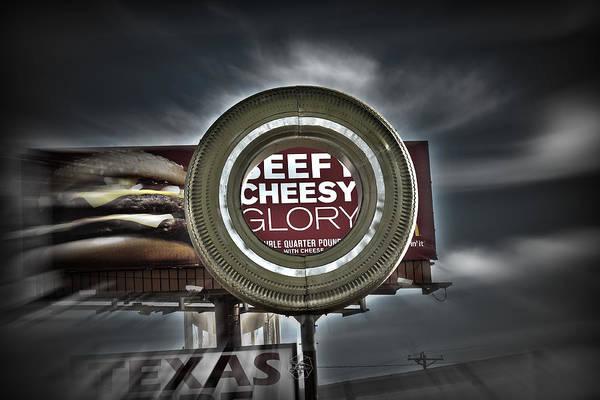 Amarillo Digital Art - Beefy Cheesy Glory Hole by Brian Archer