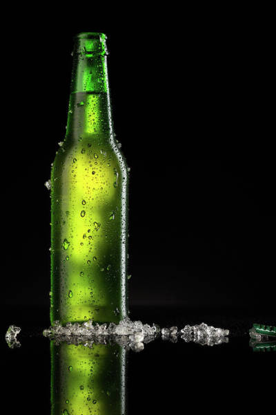 Bottle Green Photograph - Beer by Ultramarinfoto
