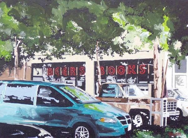 Beer's Books On L Street Art Print by Paul Guyer
