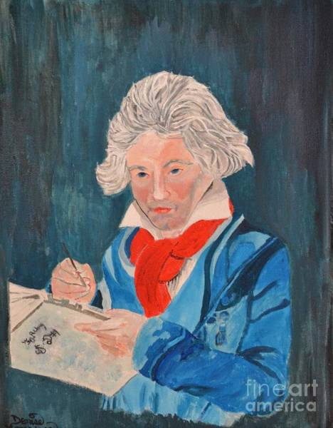 Painting - Beethoven by Denise Tomasura