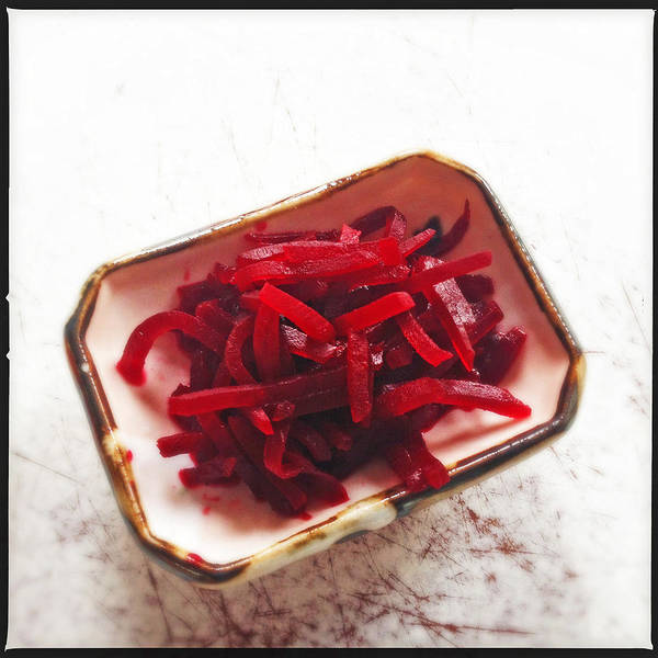 Square Wall Art - Photograph - Beetroot Salad by Matthias Hauser