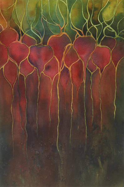Painting - Beets by Johanna Axelrod