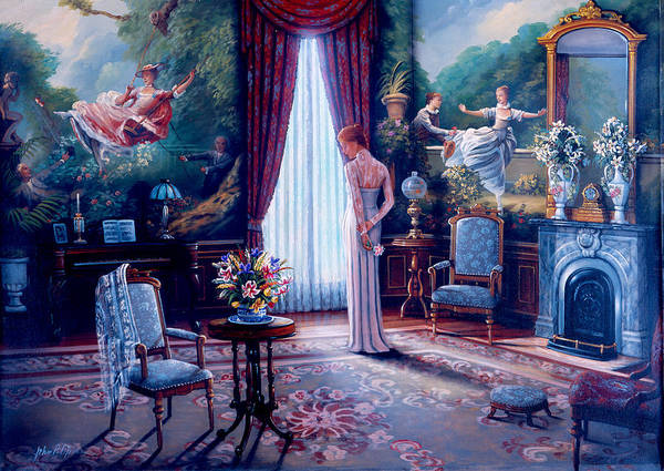 Wall Art - Painting - Before The Ball by MGL Meiklejohn Graphics Licensing