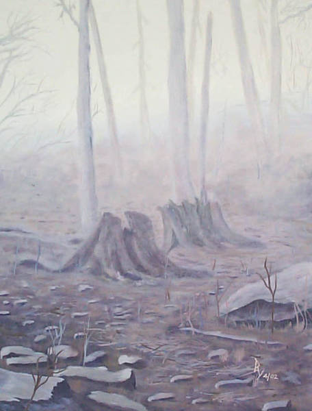 Painting - Before The First Snow by Ray Nutaitis