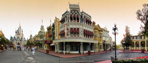 Wall Art - Photograph - Before The Gates Open Magic Kingdom Main Street. by Thomas Woolworth