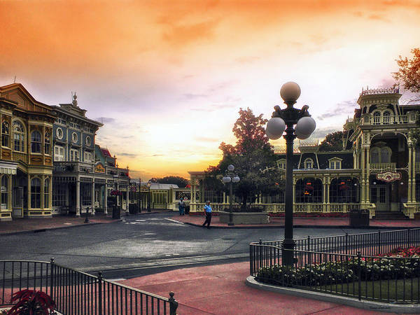 Adventureland Photograph - Before The Gates Open Magic Kingdom Walt Disney World by Thomas Woolworth