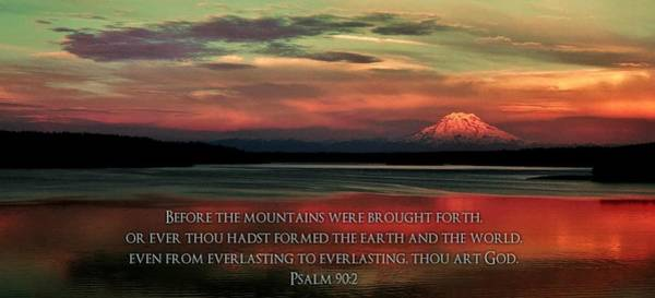 Psalms Photograph - Before The Mountains by Benjamin Yeager