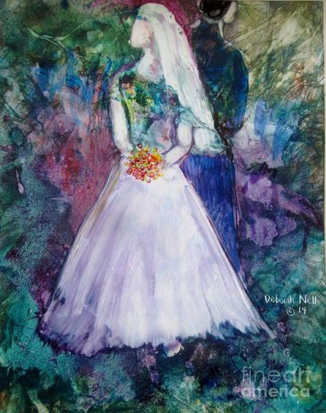Painting - Before The Wedding by Deborah Nell
