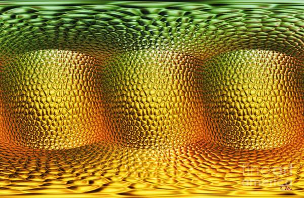 Cellar Digital Art - Begining by Mo T