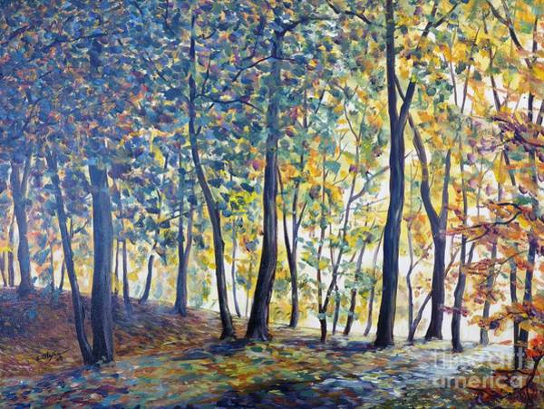 Painting - Beginning Of Autumn by Cristina Stefan