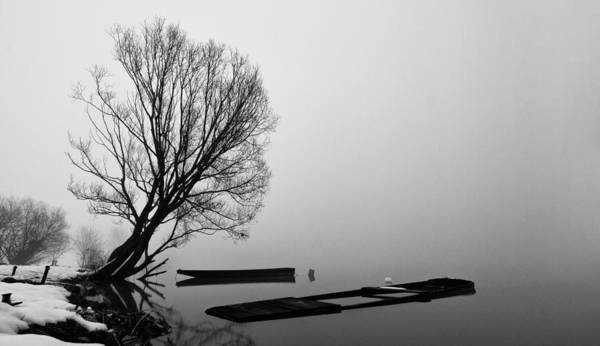 Greyscale Photograph - Beginning Of The End by Davorin Mance