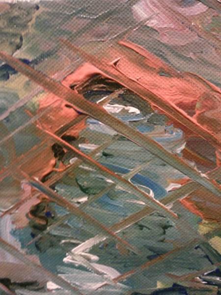 Painting - Behind Bars by Ray Khalife