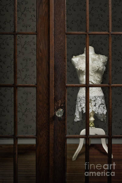 Dress Form Photograph - Behind Closed Doors by Margie Hurwich
