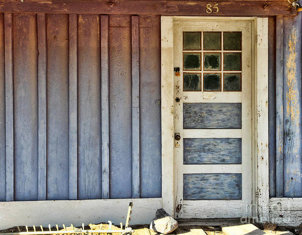 Photograph - Behind Door Number 85 By Diana Sainz by Diana Raquel Sainz