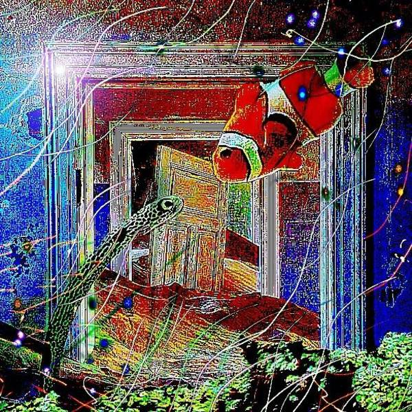 Digital Art - Behind Door Number One by Karen Buford