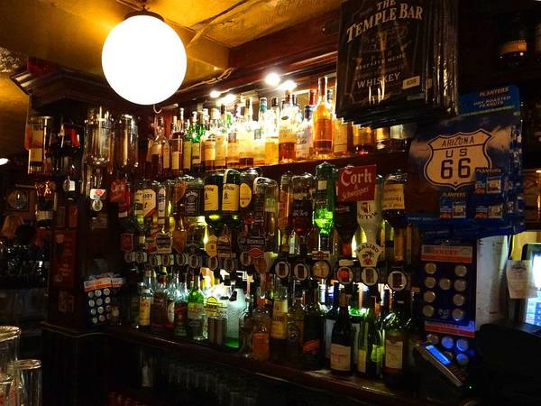 Photograph - Behind The Bar by Keith Stokes