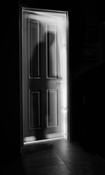 Figure Wall Art - Photograph - Behind The Door by Steve Peterson