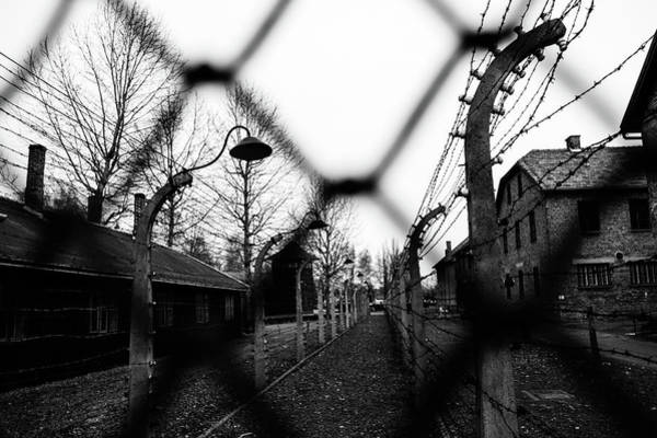 Wall Art - Photograph - Behind The Fences - Auschwitz I by Javier Palacios Prieto