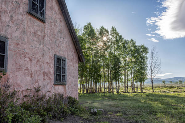 Photograph - Behind The House by Jon Glaser