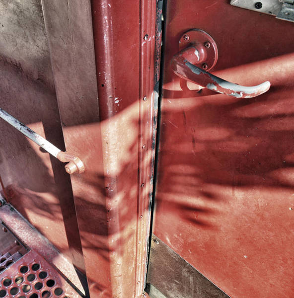 Photograph - Behind The Red Door by Jason Politte