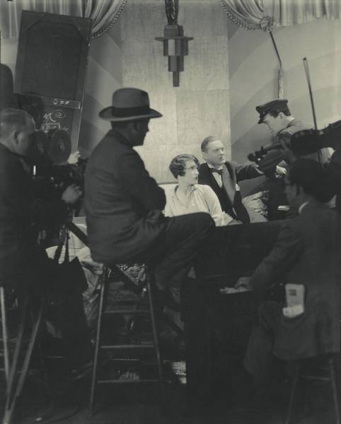 Lionel Photograph - Behind The Scenes Of A Cinema Workshop by Edward Steichen