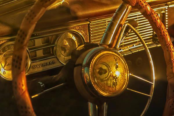 Photograph - Behind The Wheel by Louis Dallara