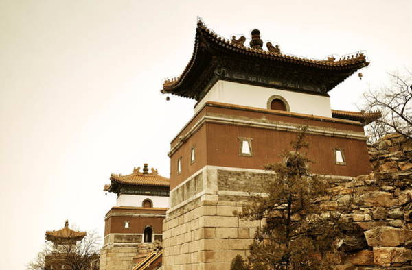Photograph - Beijing Ancient Architecture by Songquan Deng