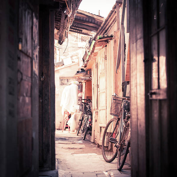 Municipality Photograph - Beijing Hu Tong Alleys by Capturing A Second In Life, Copyright Leonardo Correa Luna