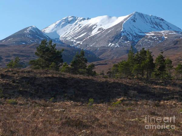 Beinn Eighe Photograph - Beinn Eighe - Scottish Highlands by Phil Banks