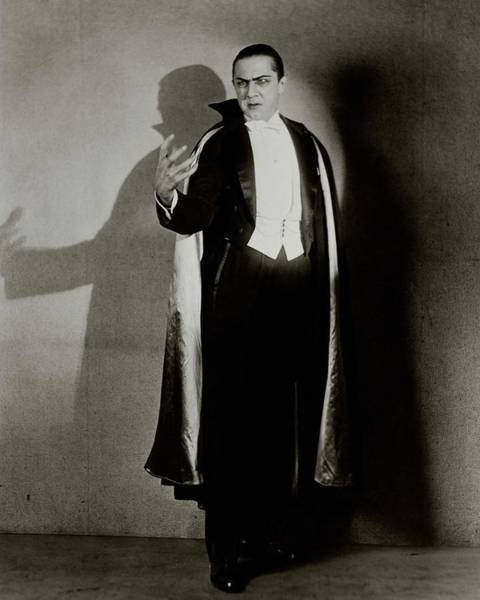 Gesture Photograph - Bela Lugosi As Dracula by Florence Vandamm