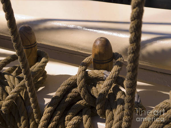Photograph - Belaying Pin by Brenda Kean