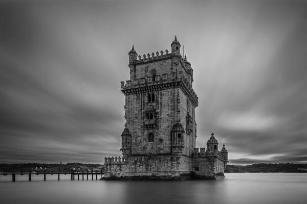 Wall Art - Photograph - Belem Tower by Marco Oliveira