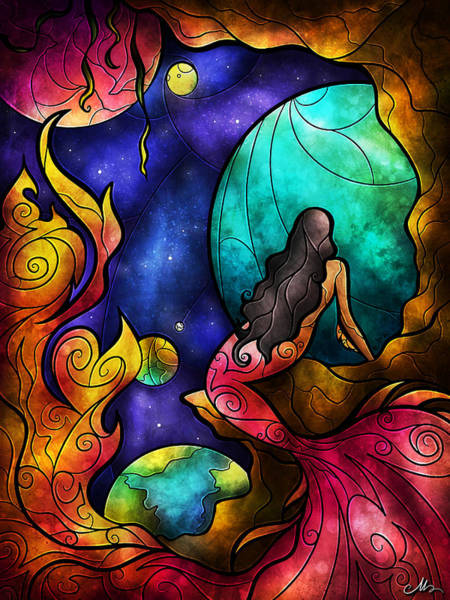 Digital Art - Believe by Mandie Manzano