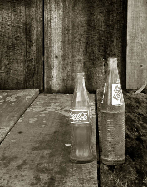 Photograph - Belizean Bottles by Michael Kirk